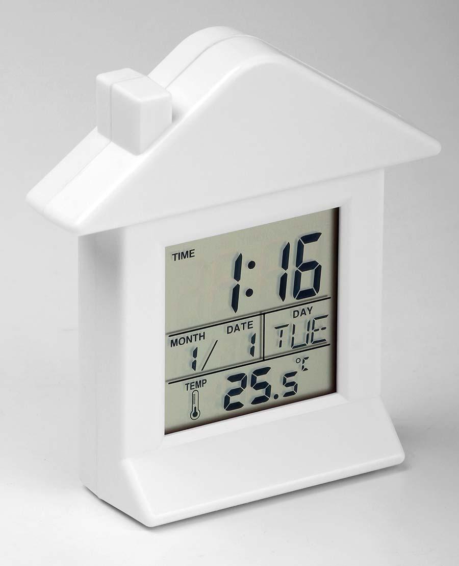 Horloge plastique avec aimant Villa