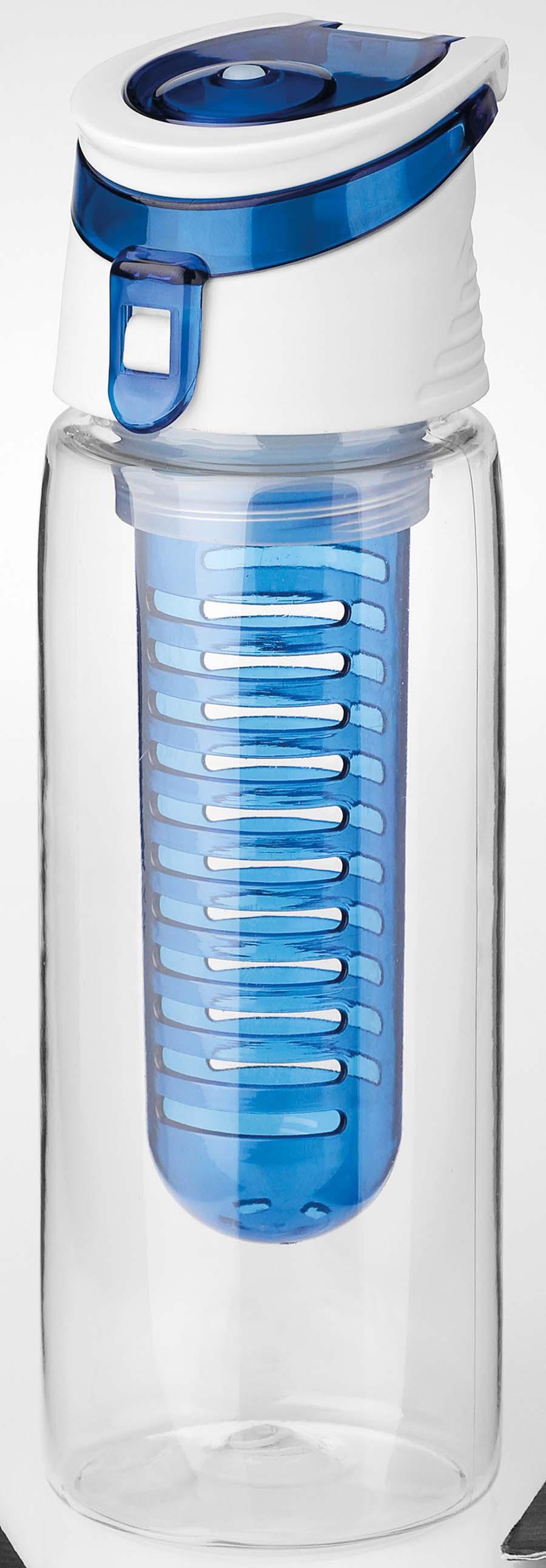 Bouteille de sport en plastique avec infuseur