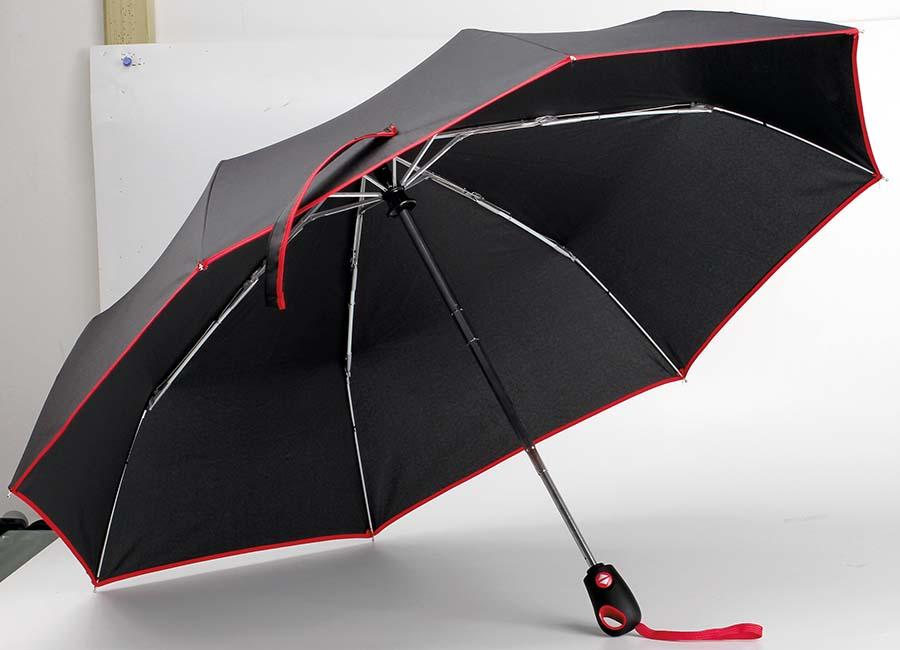 Parapluie pliant avec système ouvert Drizzle