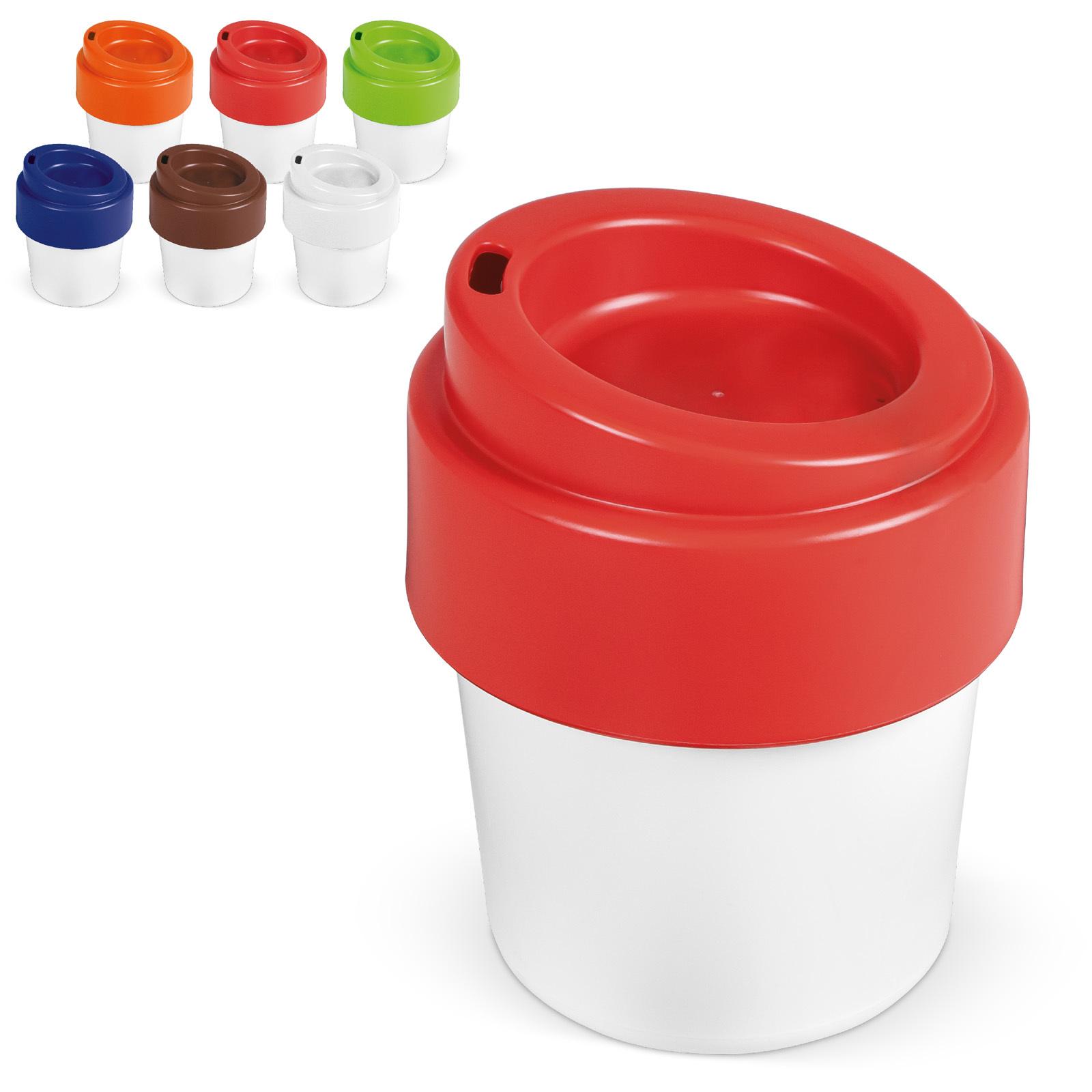 Tasse à café avec couvercle 240 ml