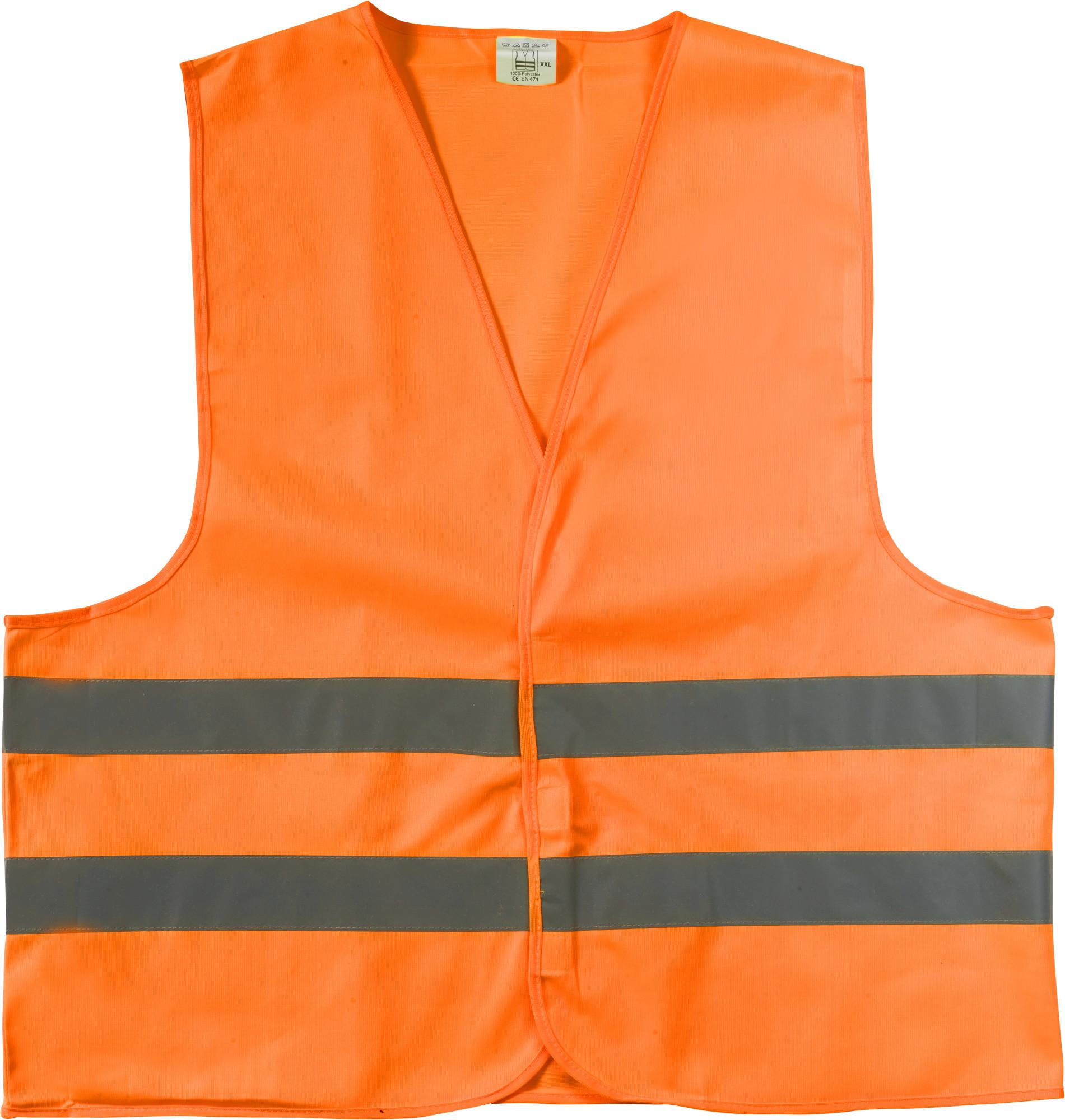 Gilet de sécurité en polyester pour adulte - 19-1196-6