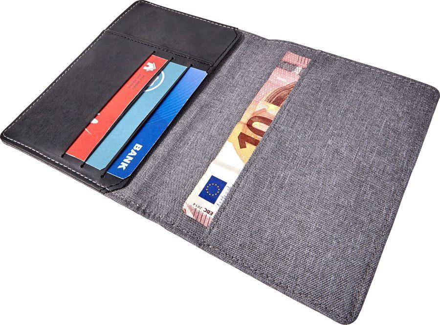 Porte-feuille et cartes de crédit RFID