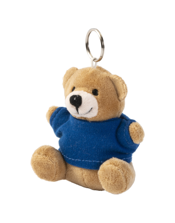 Porte-clés peluche avec tee-shirt