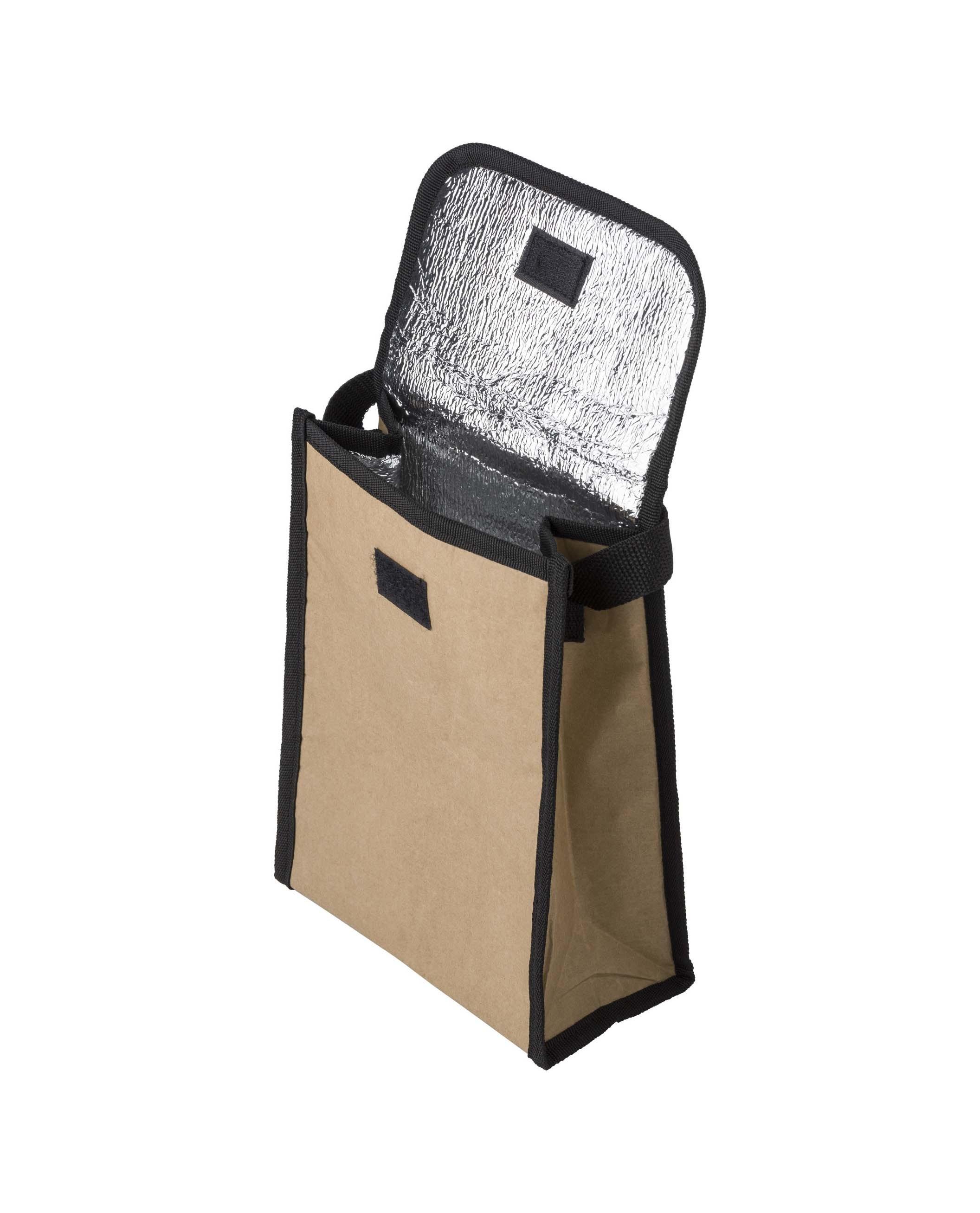 Lunch bag isotherme en papier laminé