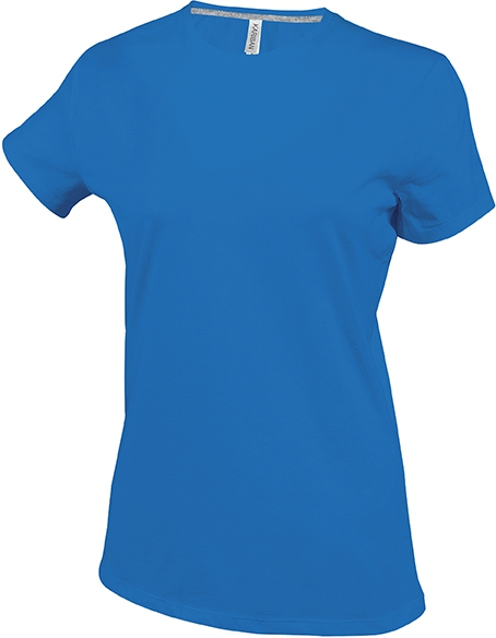 Tee-shirt femme manches courtes encolure rond - 2-1015-15