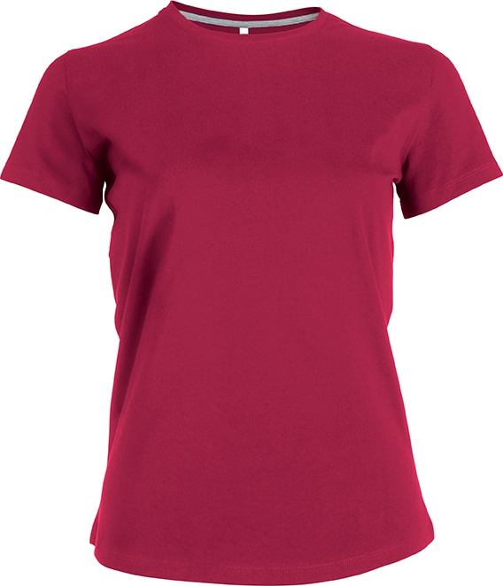 Tee-shirt femme manches courtes encolure rond - 2-1015-16