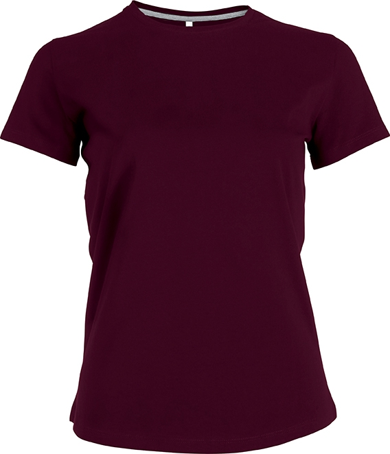 Tee-shirt femme manches courtes encolure rond - 2-1015-2
