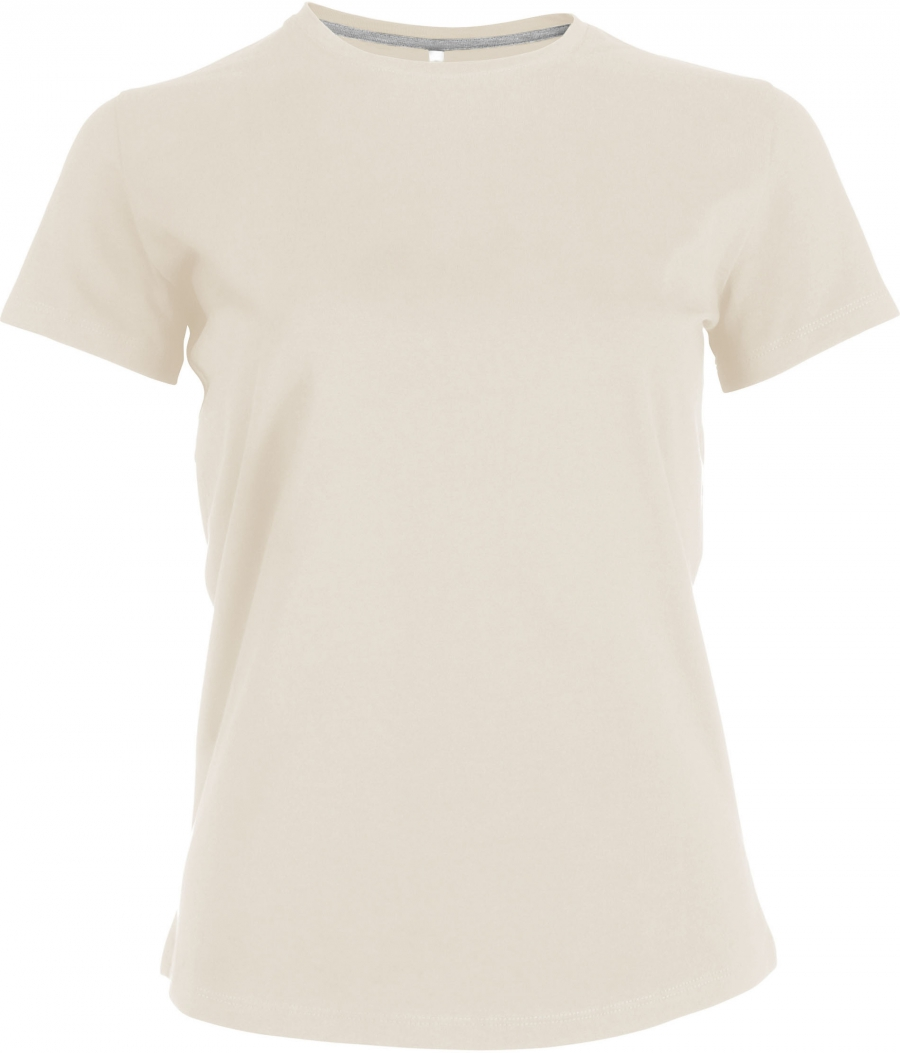 Tee-shirt femme manches courtes encolure rond - 2-1015-3