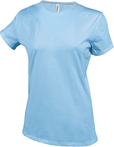 Tee-shirt femme manches courtes encolure rond - 2-1015-8