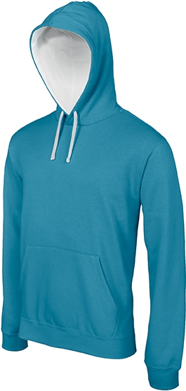 Sweat-shirt homme capuche contrastée - 2-1026-16