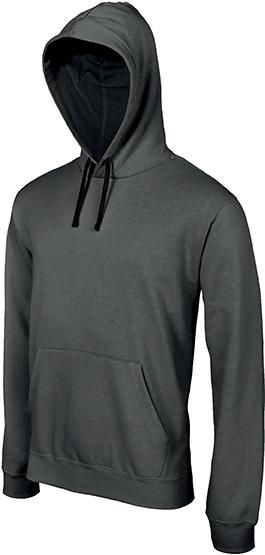 Sweat-shirt homme capuche contrastée - 2-1026-6