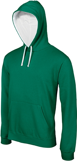 Sweat-shirt homme capuche contrastée - 2-1026-7