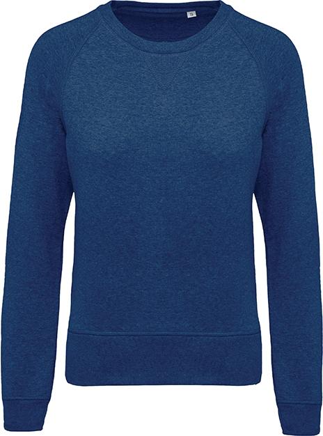 Sweat-shirt bio col rond manches raglan femme - 2-1414-3