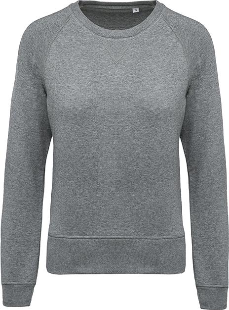 Sweat-shirt bio col rond manches raglan femme - 2-1414-7