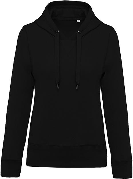 Sweat-shirt bio capuche femme - 2-1416-10