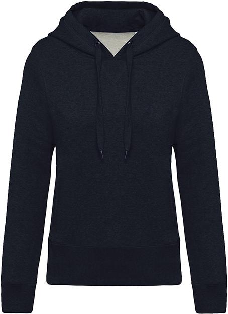 Sweat-shirt bio capuche femme - 2-1416-11