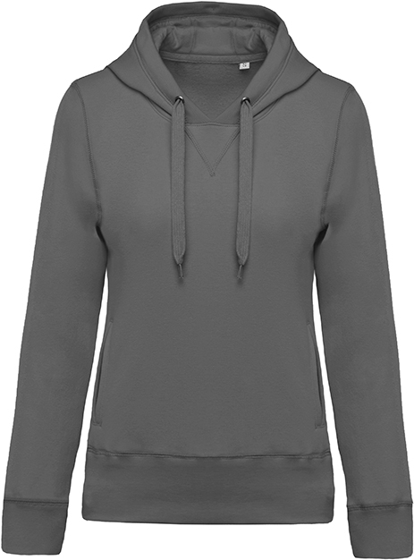 Sweat-shirt bio capuche femme - 2-1416-3