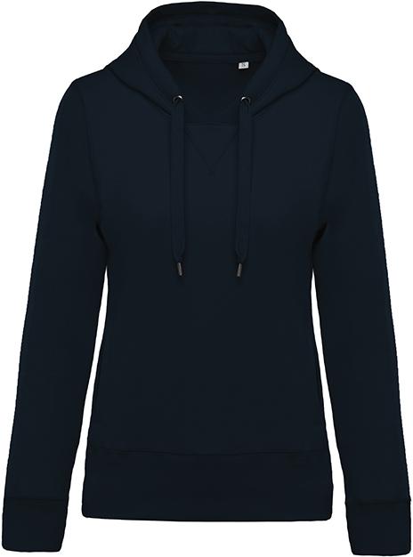 Sweat-shirt bio capuche femme - 2-1416-7