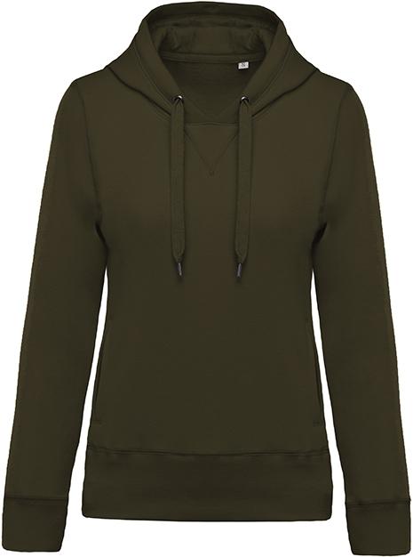 Sweat-shirt bio capuche femme - 2-1416-8