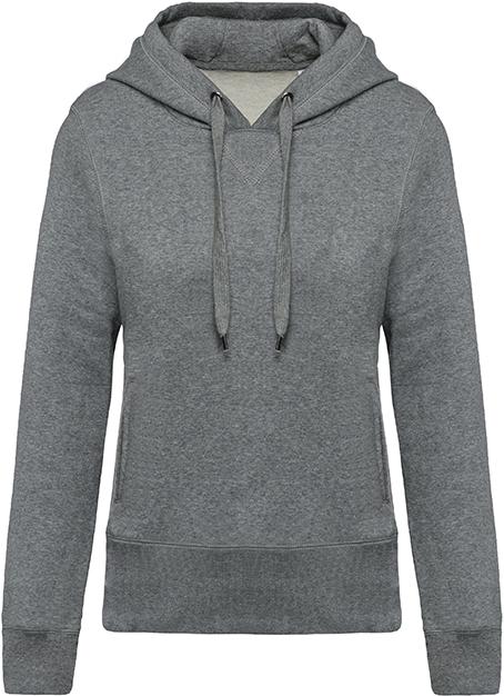 Sweat-shirt bio capuche femme - 2-1416-9