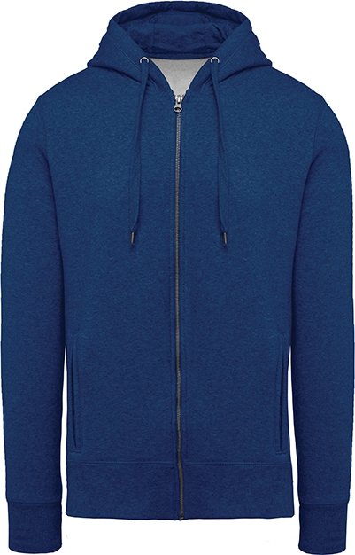 Sweat-shirt bio zippé capuche homme - 2-1417-6