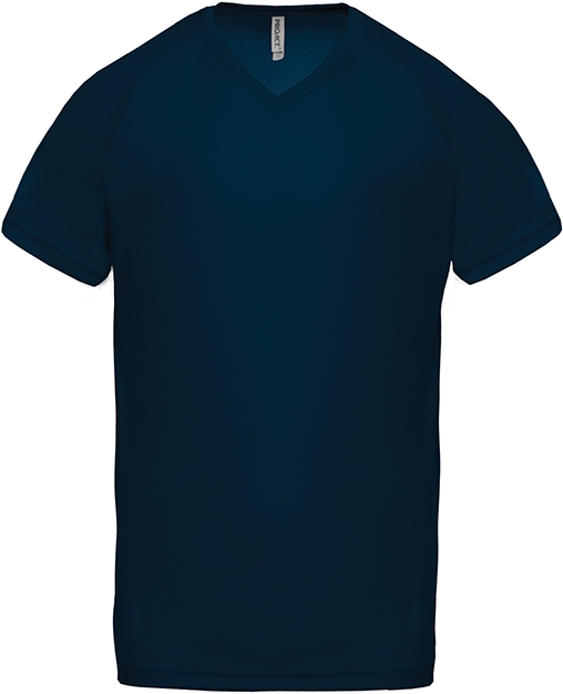 Tee-shirt de sport manches courtes col V homme - 2-1443-10