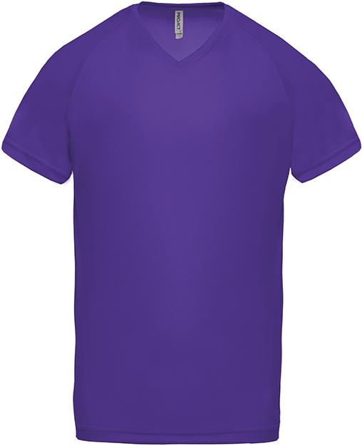 Tee-shirt de sport manches courtes col V homme - 2-1443-11