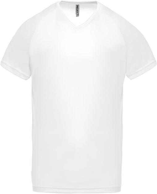 Tee-shirt de sport manches courtes col V homme - 2-1443-12