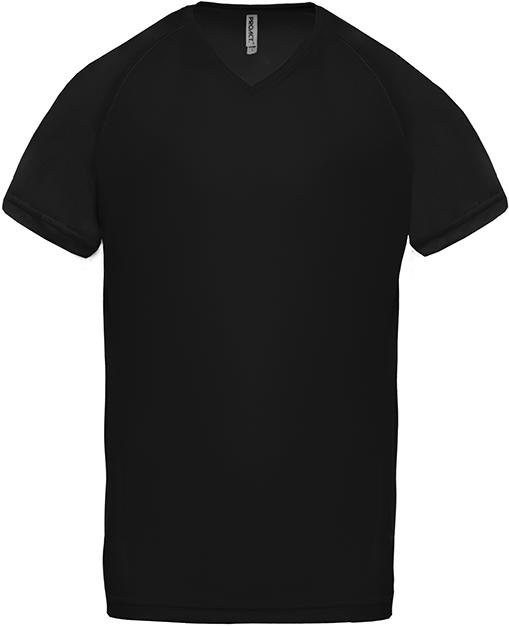 Tee-shirt de sport manches courtes col V homme - 2-1443-3
