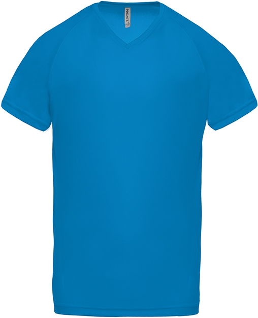 Tee-shirt de sport manches courtes col V homme - 2-1443-4