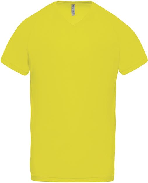 Tee-shirt de sport manches courtes col V homme - 2-1443-6