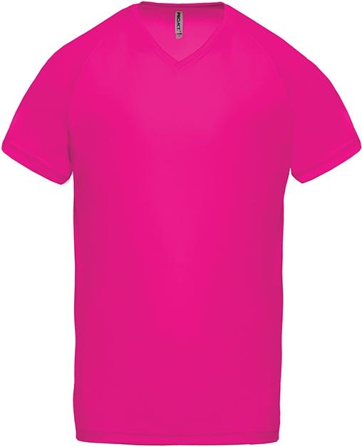 Tee-shirt de sport manches courtes col V homme - 2-1443-7