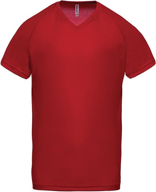 Tee-shirt de sport manches courtes col V homme - 2-1443-8