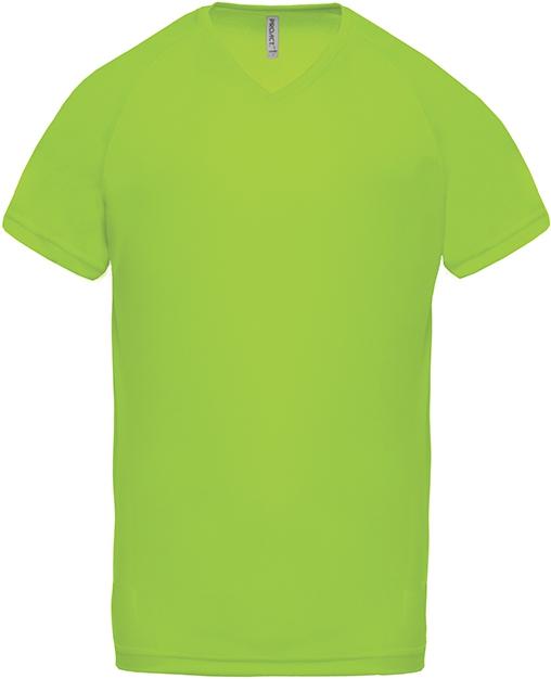 Tee-shirt de sport manches courtes col V homme - 2-1443-9