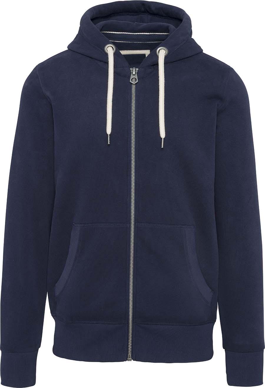 Sweat-shirt vintage zippé à capuche homme - 2-1530-10