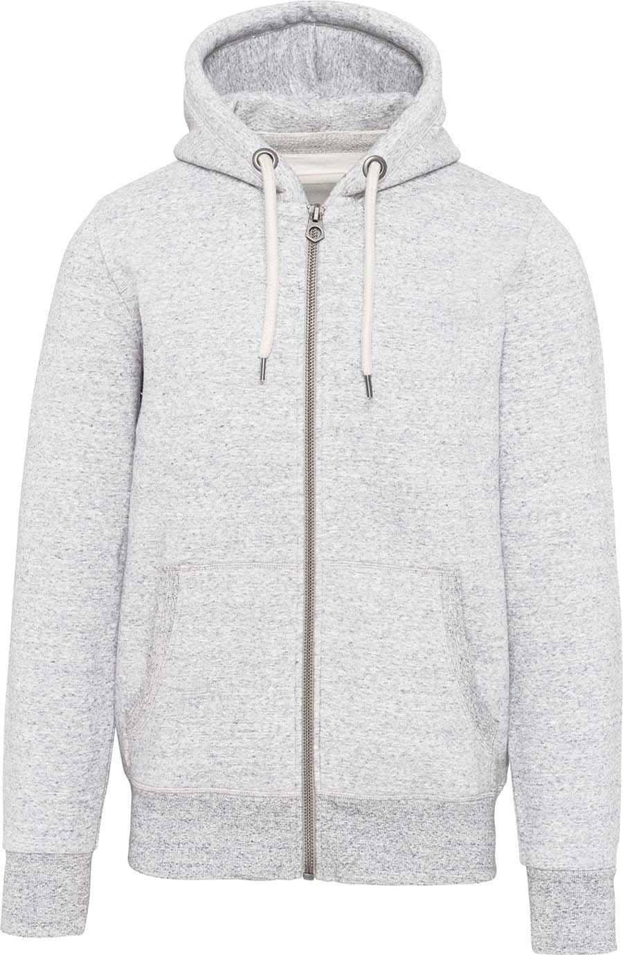 Sweat-shirt vintage zippé à capuche homme - 2-1530-3