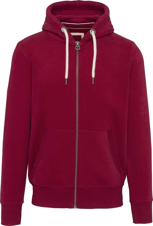 Sweat-shirt vintage zippé à capuche homme - 2-1530-7