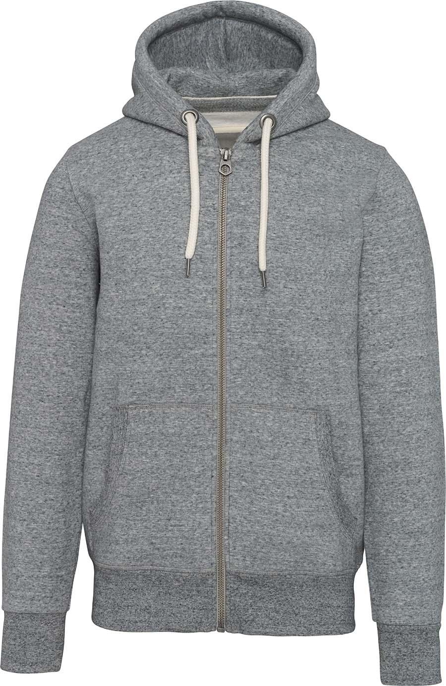 Sweat-shirt vintage zippé à capuche homme - 2-1530-8