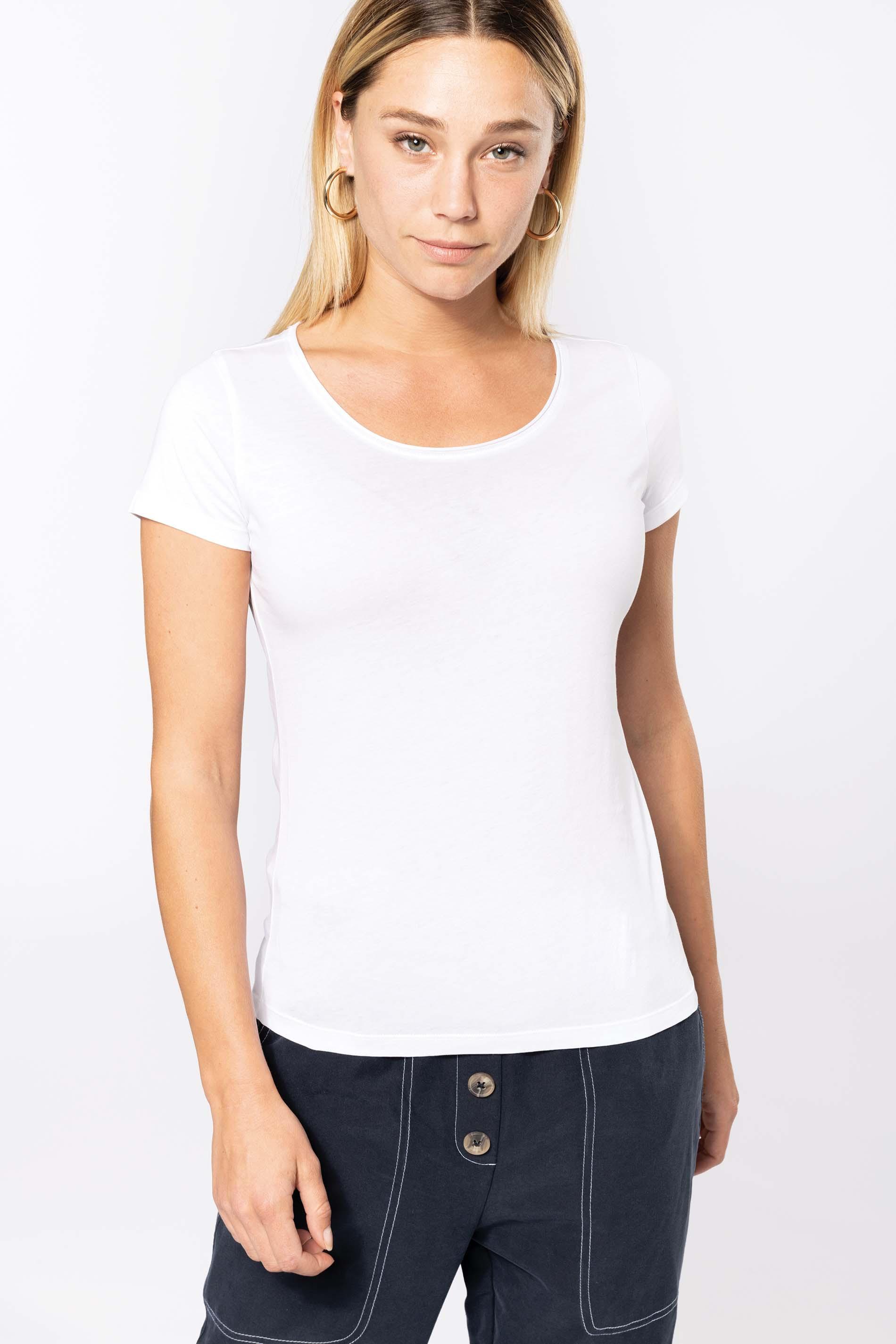 Tee-shirt bio manches courtes femme
