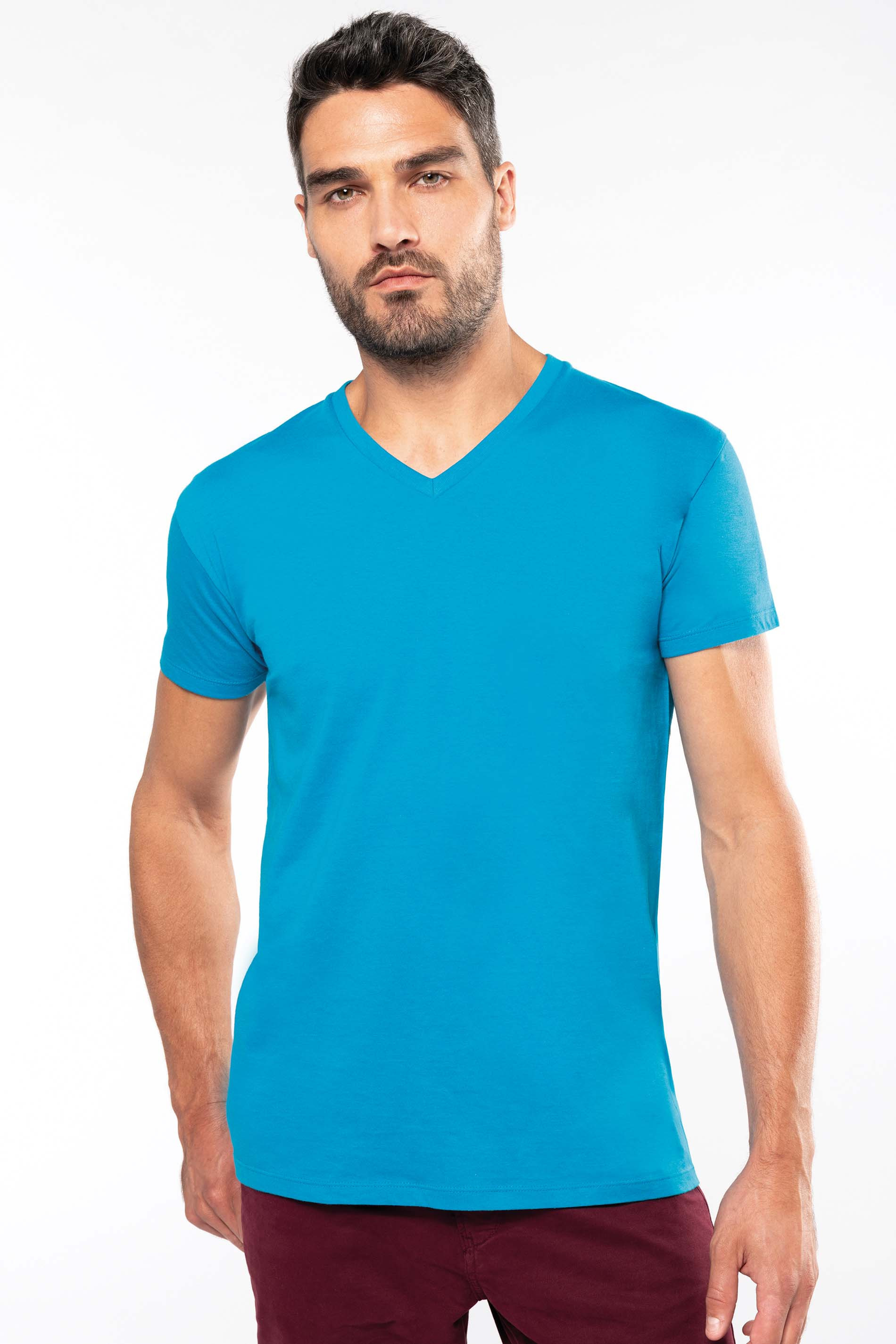 Tee-shirt bio col V homme