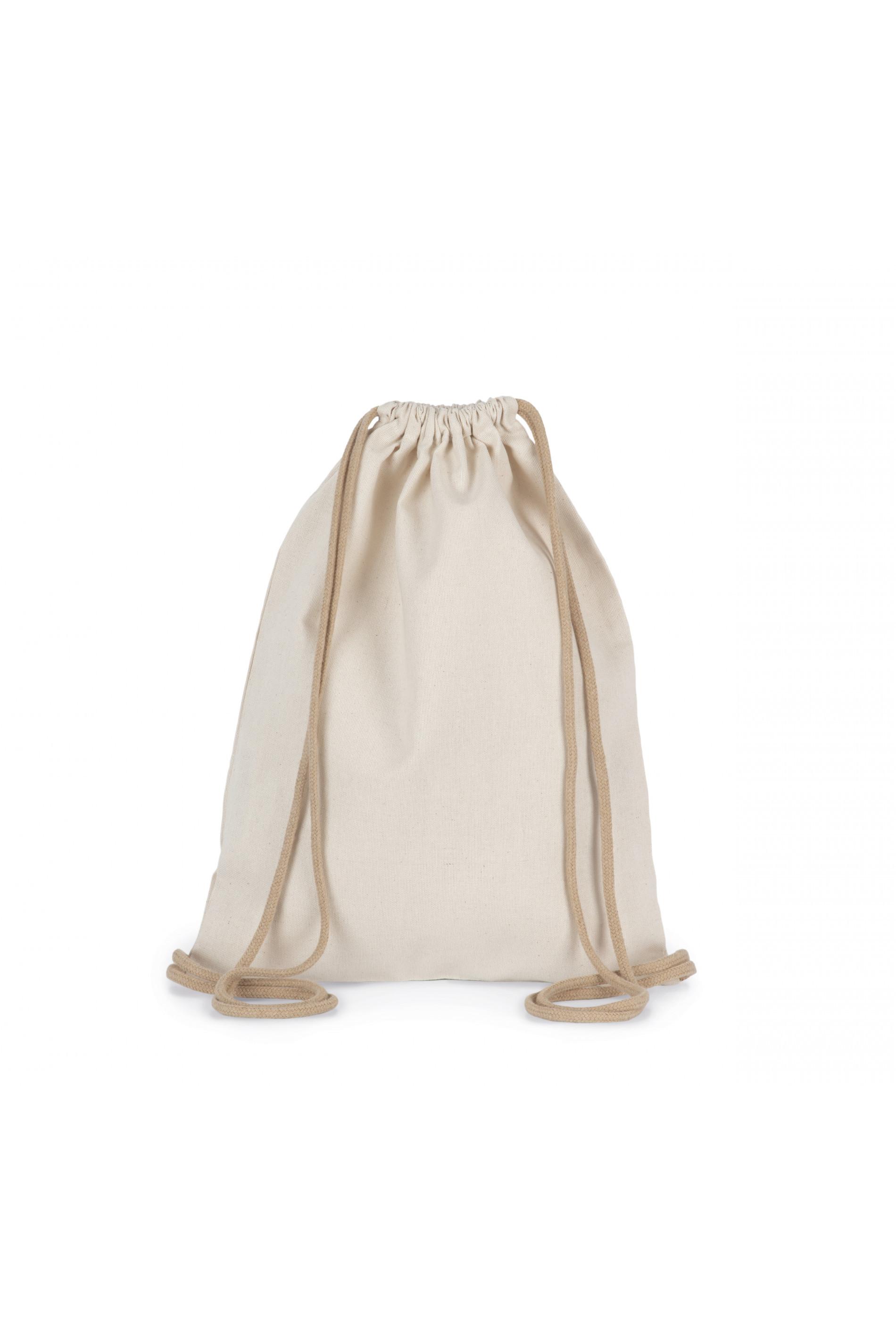 Petit sac à dos recyclé à cordon coulissant