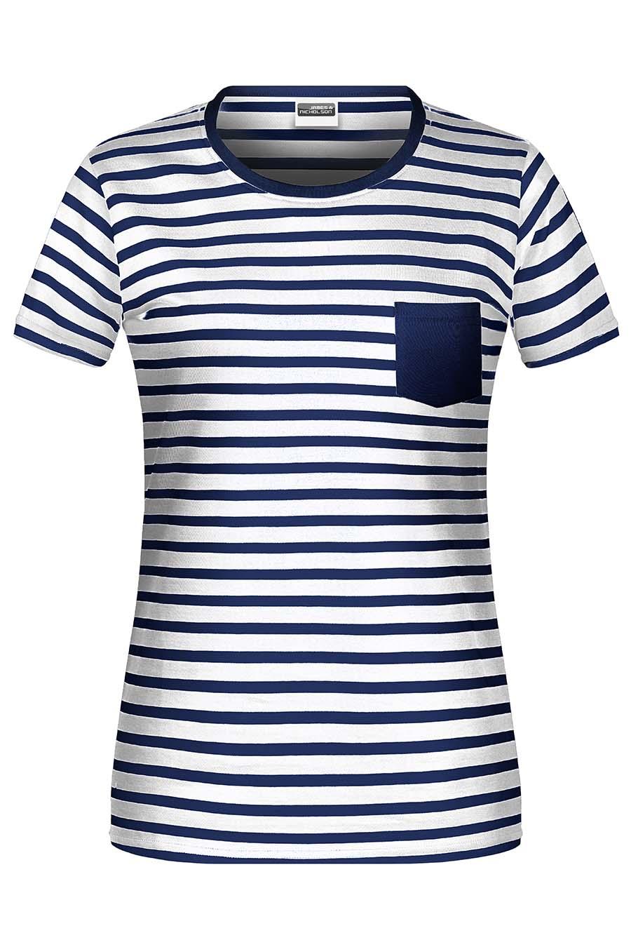 Tee-shirt bio rayé Femme - 20-1490-4