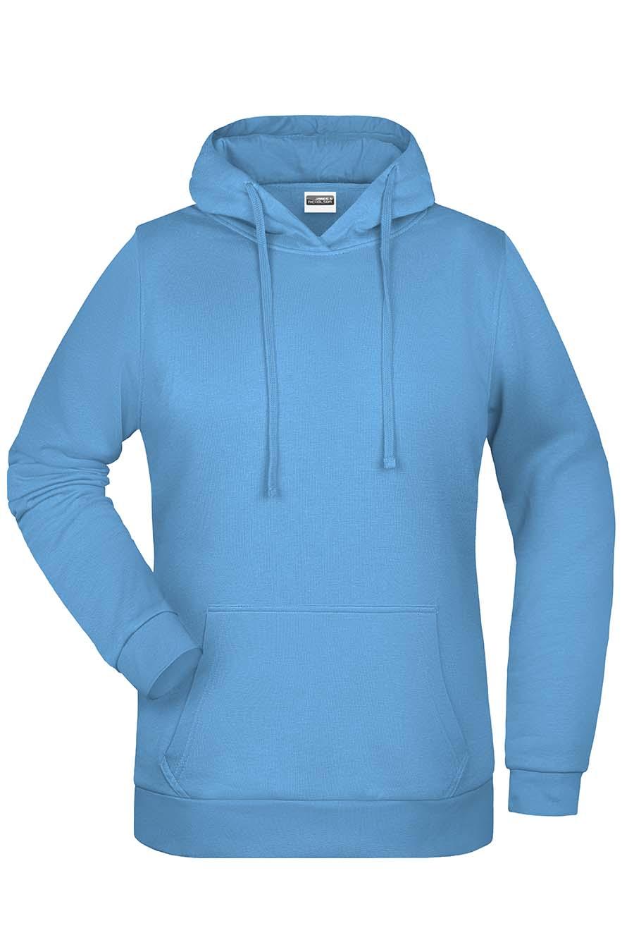 Sweat-shirt capuche femme - 20-1494-19