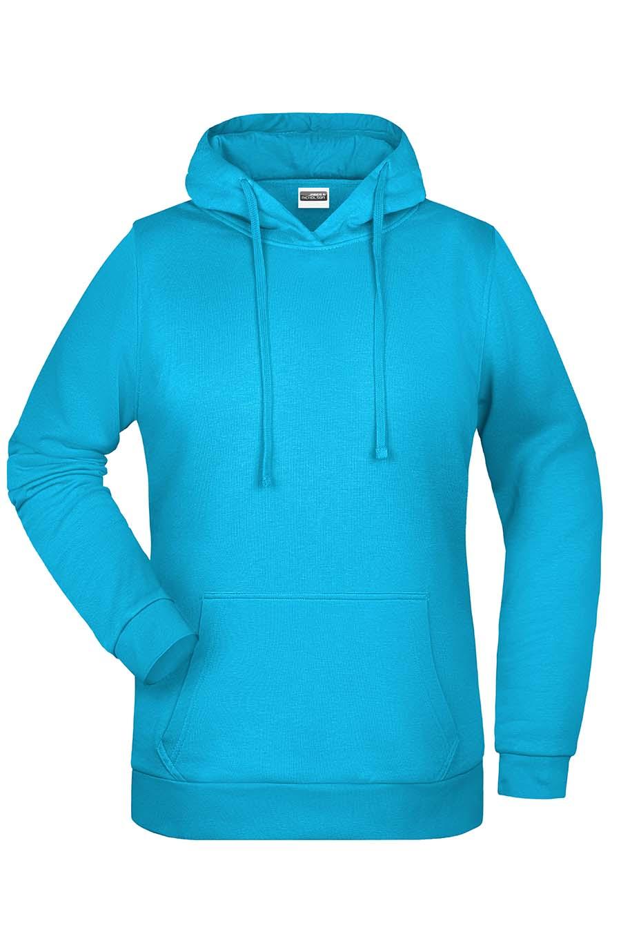 Sweat-shirt capuche femme - 20-1494-21