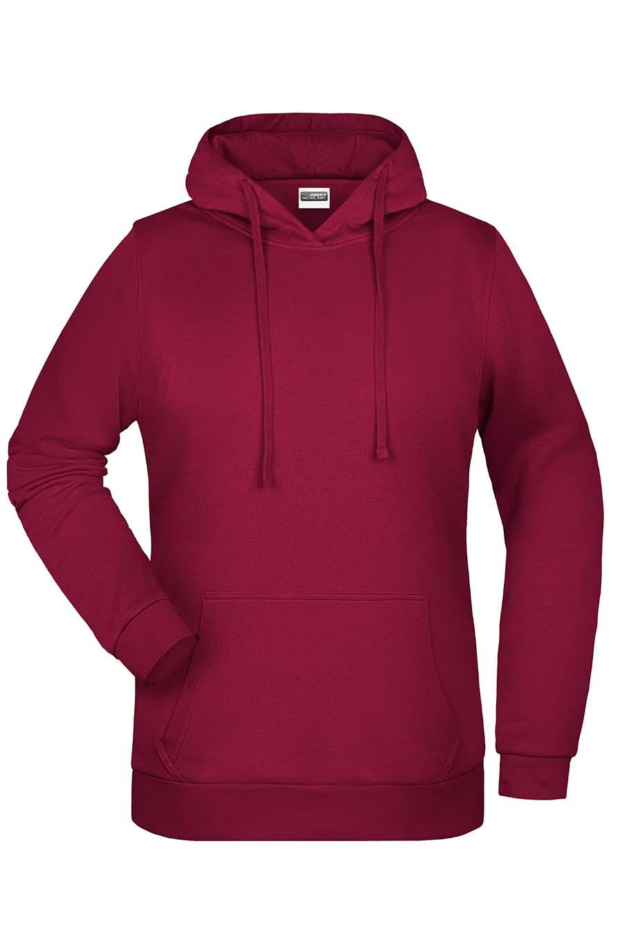 Sweat-shirt capuche femme - 20-1494-22
