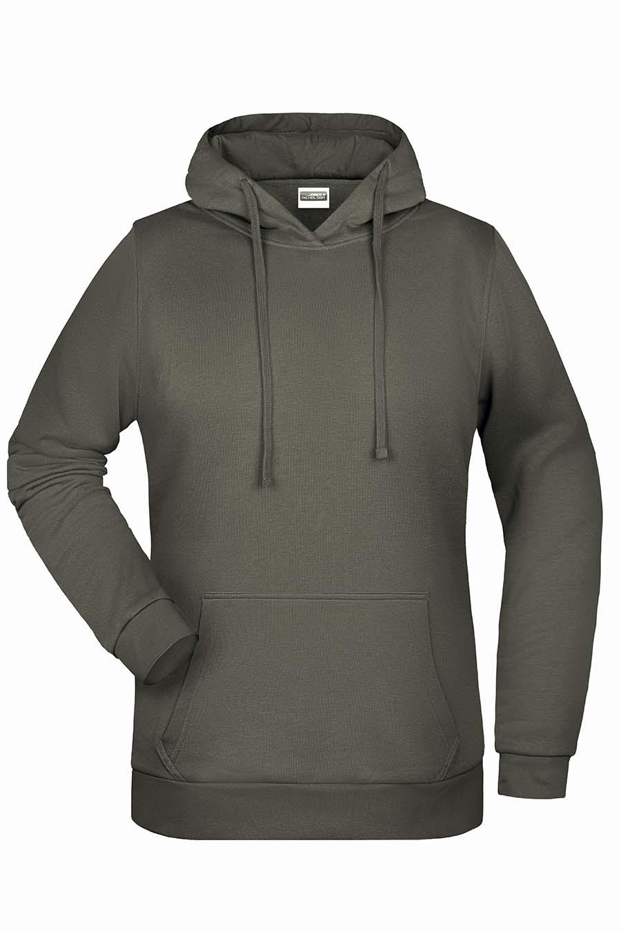Sweat-shirt capuche femme - 20-1494-5