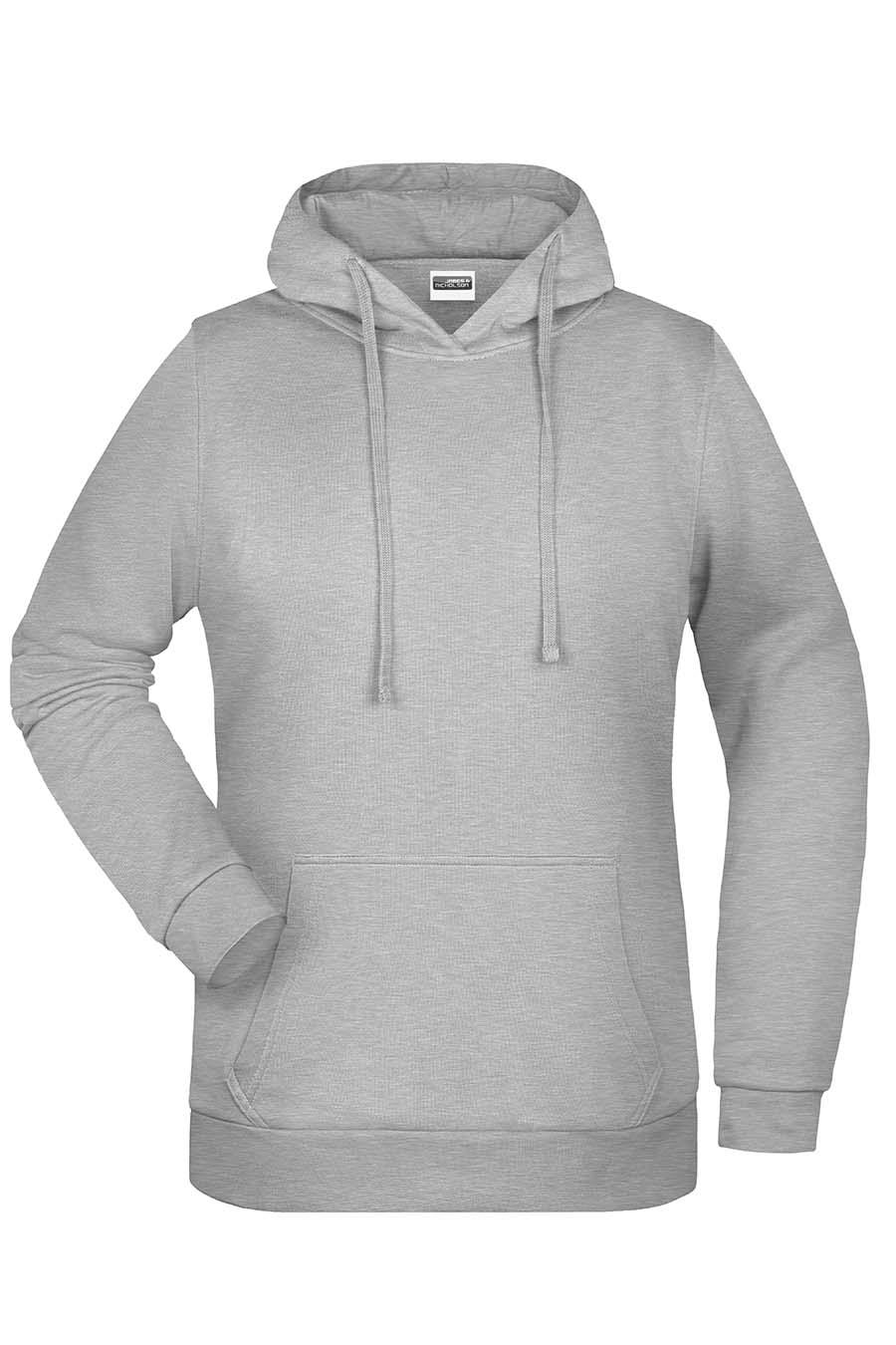 Sweat-shirt capuche femme - 20-1494-9