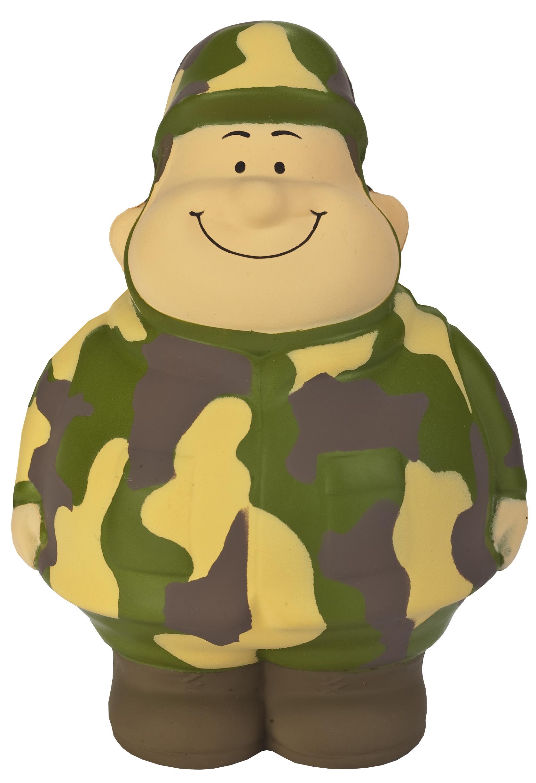 Squeezie M. Bert militaire