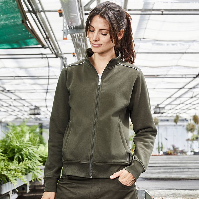 Sweat-shirt workwear femme