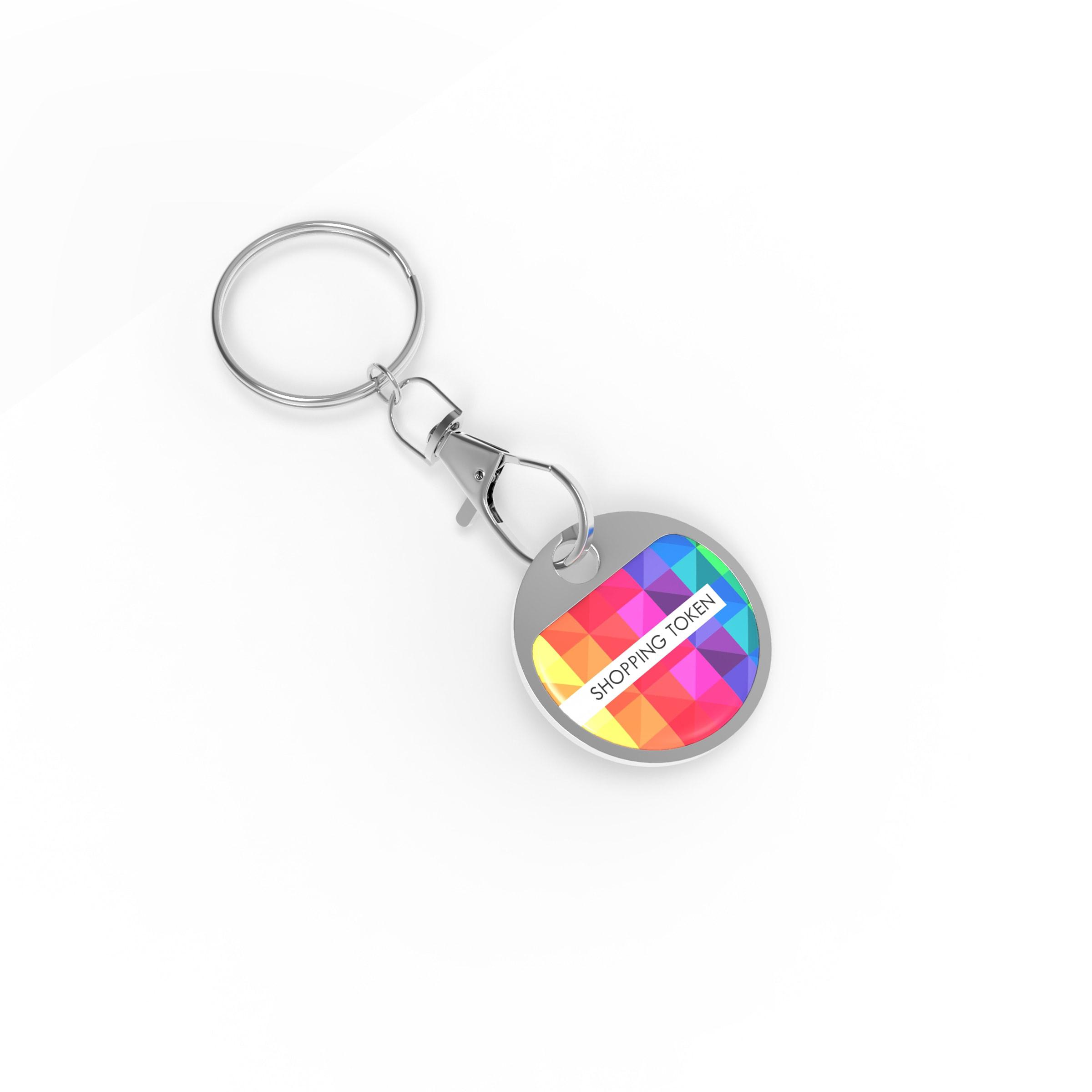 Porte-clés shooping Token